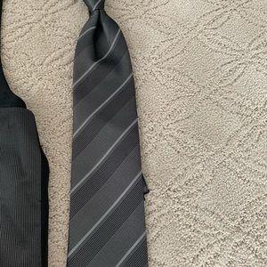 Calvin Klein Suits & Blazers - Calvin Klein tuxedo grey accessory set L
